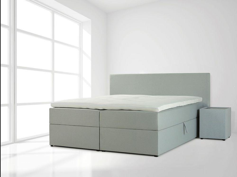 Kontynentalne łóżko tapicerowane Pacyfik
