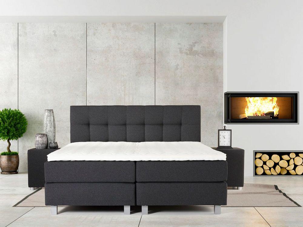 łóżko Tapicerowane Kontynentalne Skandynawia 3 Szerokości Plmeblepl
