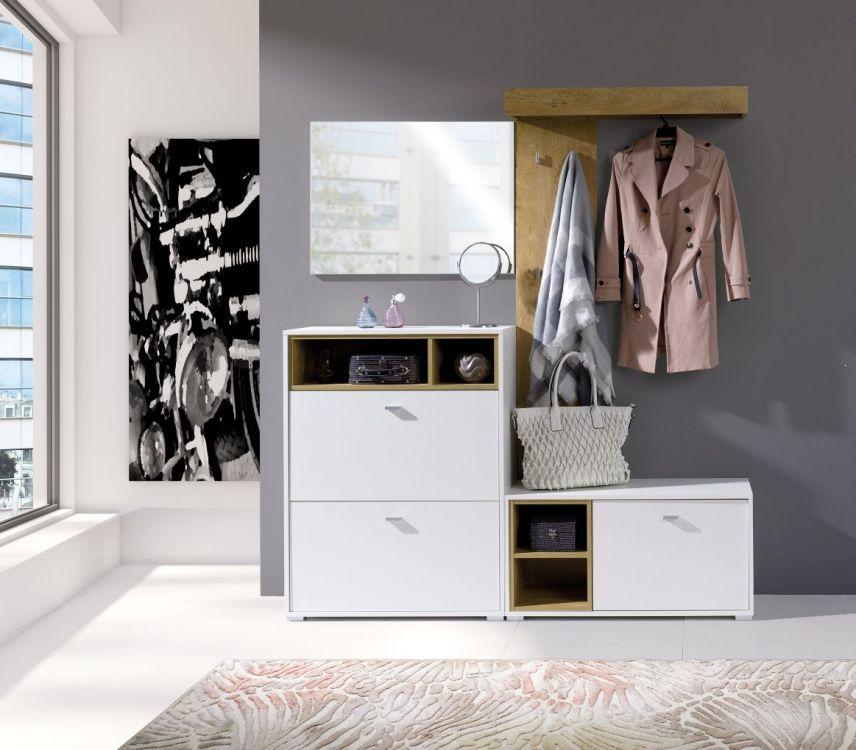 Garderoba do przedpokoju w stylu skandynawskim Miki