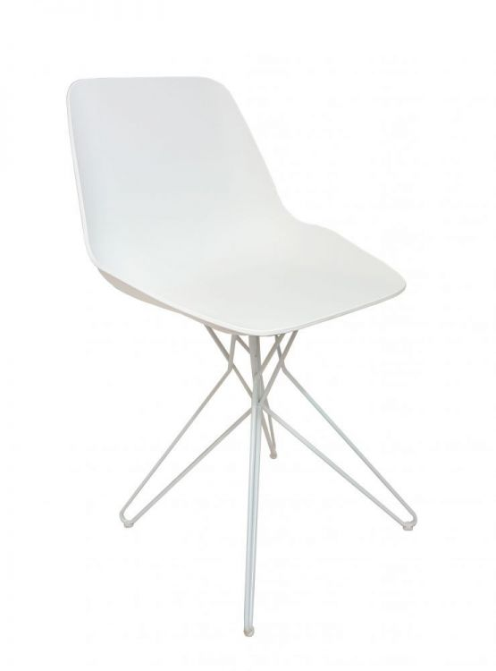 Krzesło Do Kuchni Jadalni Mase Białe
