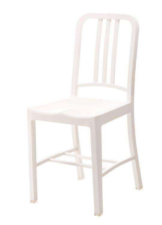 Krzesło Do Kuchni Jadalni Marzia Białe