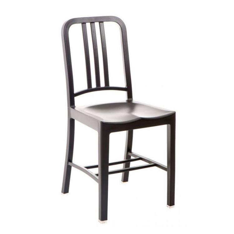 Krzesło do kuchni jadalni Base czarne