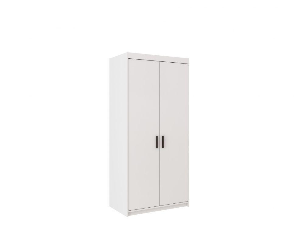 Szafa 2 drzwiowa biała