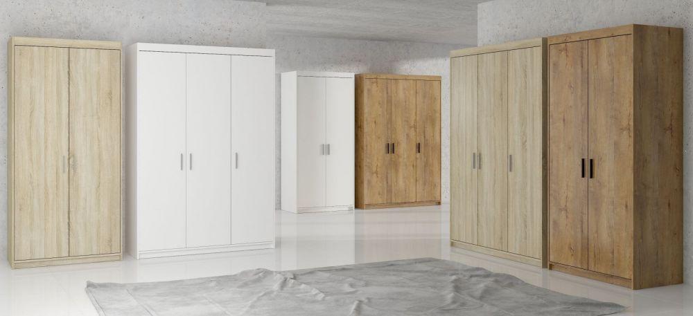 szafa 3 drzwiowa Emi biała
