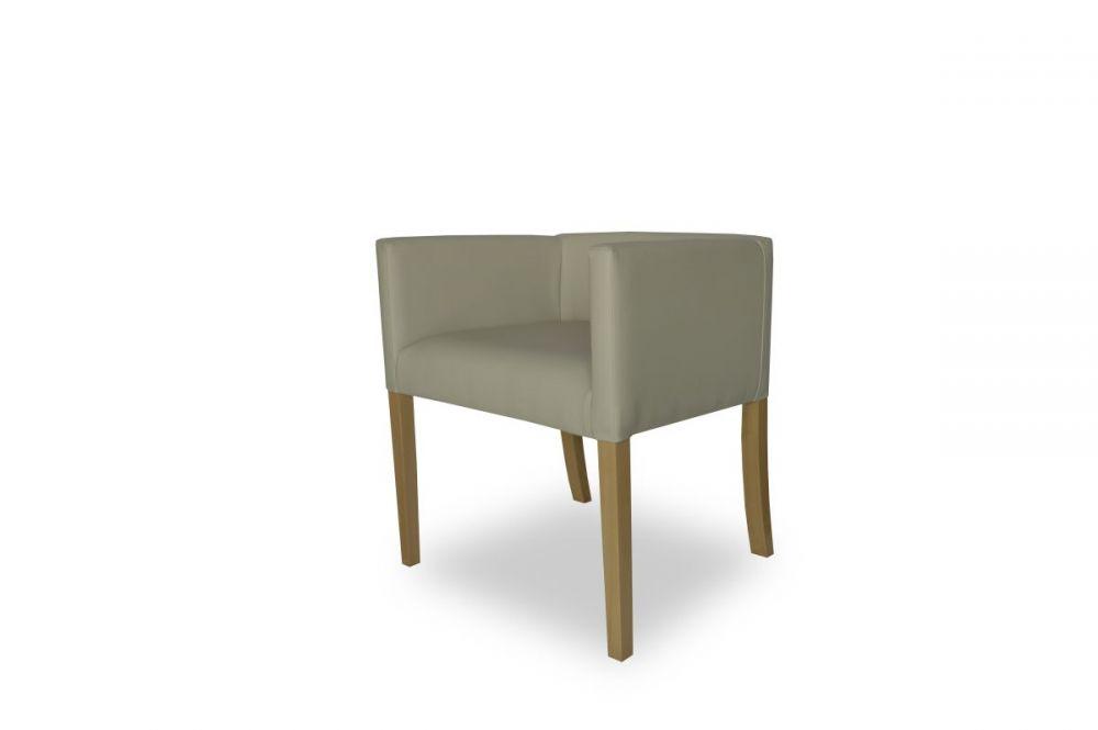 Fotel kubełkowy z podłokietnikami