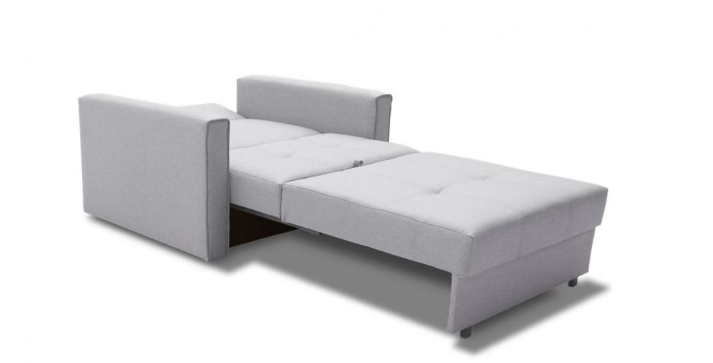 rozkładana sofa szara