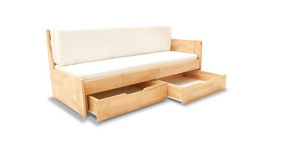 łóżko do spania i siedzenia