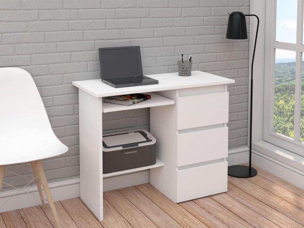 Biurko na laptopa i drukarkę