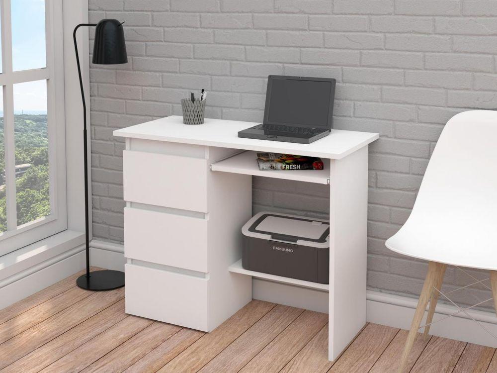 Małe białe biurko
